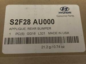 2019-2021 Hyundai Santa Fe Rear Bumper Applique? S2F28-AU000  GENUINE