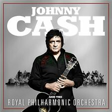JOHNNY CASH - AND THE ROYAL PHIL-HARMONIC ORCHESTRA [CD] Sent Sameday*