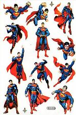 SUPERMAN SUPERBE PLANCHE AUTOCOLLANTS (DIFFUSES EN THAILANDE)