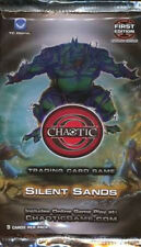 6x Chaotic Trading Card Game TCG Silent Sands Booster Packs