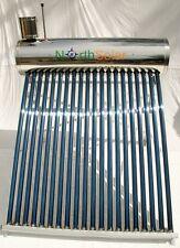 Solar Hot Water System -Evacuated 200L wetback & booster compatible North Solar