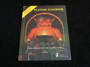 AD&D PLAYERS HANDBOOK 1980 TSR GAMES 6TH PRINTING GARY GYGAX DUNGEONS & DRAGONS