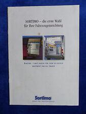 Sortimo Fahrzeugeinrichtung - Prospekt Brochure 01.2000