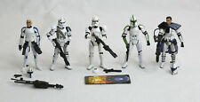 Star Wars Clone Trooper Army Builder Lot - ARC Commander Clone Wars ROTS