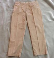 "Sonoma Life & Style Khaki Flat Front Pants Men's Size 38""x 34"" Gently worn"