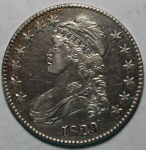 1829 Small Date Bust Half WZ163