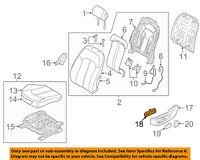 81570-1G000 OEM 2006-2010 Hyundai Accent 4-DR SEDAN FUEL AND TRUNK LID HANDLE