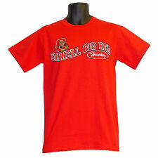 Cornell Big Red Hockey Campus Customs Red Teams Wave T-Shirt - 2XLarge