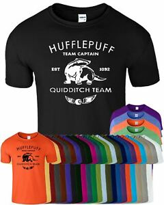 HARRY POTTER Hufflepuff Kids T-Shirt Hogwart Gryffindor Ravenclaw Top Tshirt