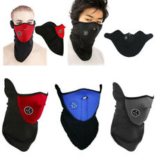 Motorcycle Cycling Winter Warm Half Face Cover Fleece Neoprene Ski Snowboard Us