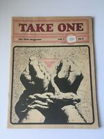 TAKE ONE THE FILM MAGAZINE July 1969 - Costa-Gavras interview Hollywood Canada