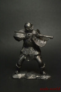 1/32 Tin soldier Bohemian shooter with an archer metal soldiers miniature 54mm