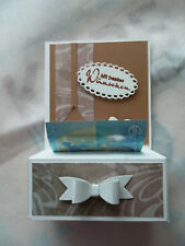 Verpackung für Geldgeschenke, Geldrollbox, zu vielen Anlässen,Handarbeit