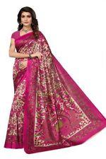 Rosa kalmakari Mysore Silk Saree,Sari, Bollywood, salwar lehnga indien kameez