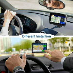"""GPS Navigation for Car 7"""" Touch Screen 8GB Voice Turn Direction Reminder"""