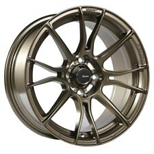 15x8 Advanti Racing Storm S2 4x100 +25 Matte Bronze Wheels (Set of 4)