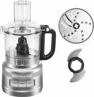 KitchenAid - 2-Speed Food Processor - Contour Silver