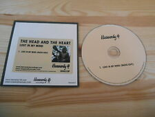 CD Indie the Head and the heart-Lost In My Mind (1) canzone PROMO Heavenly