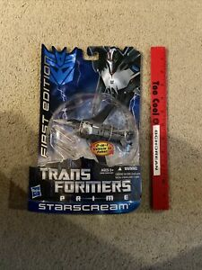 Transformers Prime First Edition Deluxe Class Decepticon Starscream New