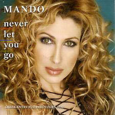 CD Single EUROVISION 2003 Grece  Mando Never let you go