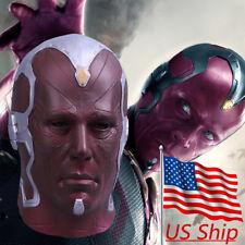 Cosplay Vision Mask Avengers 3 Infinity War Superhero Mask Halloween Helmet New