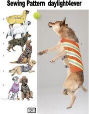Dog Coat Vest Bathrobe Backpack Size 30-46 Lbs Sewing Pattern 1578 New #k