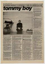 Television Tom Verlaine UK Interview 1984