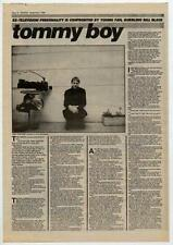 Television Tom Verlaine UK Interview 1984