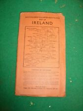 Batholomew's Quarter Inch Map of Ireland DUBLIN and ATHLONE Sheet 6 1950's ?
