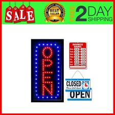 Open Closed Sign For Business Neon Open Sign Indoor Electric Light up Sign