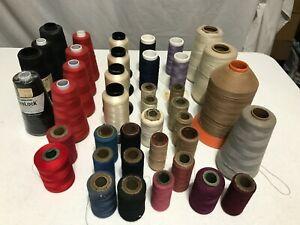 Assortment of Serger Thread Spools