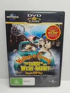 Wallace And Gromit - The Curse Of The Were-Rabbit Interactive DVD Game (DVD, 20…