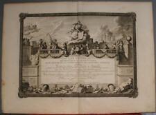 ATLAS GENERAL 1770 BRION DE LA TOUR & DESNOS ANTIQUE COPPER ENGRAVED TITLE PAGE