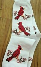 Potpourri Women's Red Cardinal Socks  NIP
