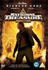 National Treasure DVD 2004 by Nicolas Cage Harvey Keitel Jon Turteltaub Jer