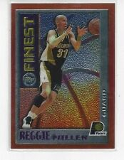1995-96 TOPPS FINEST MYSTERY INSERT REGGIE MILLER #M14 - INDIANA PACERS