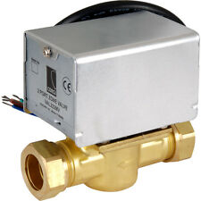 2 PORT MOTORISED VALVE 22MM DIRECT REPLACEMENT HONEYWELL V4043H1056 VAL222MP