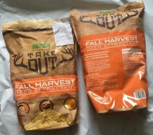 Lot Of 2 Primos Take Out Fall Harvest Deer Attractant  5 Lb Hunting Feed Corn