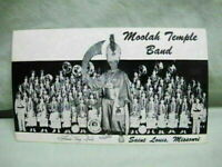 Postcard Moolah Temple Band St Louis Mo