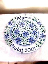 Algarve Portugal Wall Plate, Hand Painted/Signed