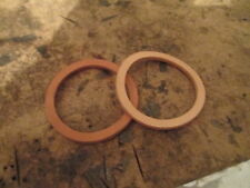"""Well Cylinder Leather Cap Gasket for 2 1/2"""" Cylinder, One or More"""
