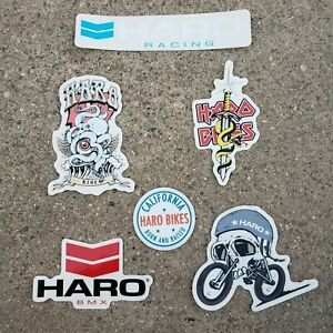 HARO BMX 2019 ASSORTED STICKERS DECAL BMX BICYCLE STICKER DECALS PACK KIT