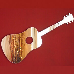 Acoustic Guitar Acrylic Mirror (Several Sizes Available)
