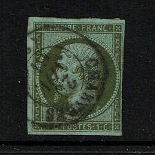France SC# 12 - Used - '61 CDS / Page / Ink Rem - Lot 082017