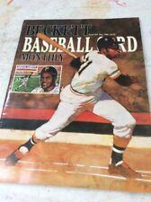 Beckett Baseball Magazine Monthly Price Guide May 1989 Roberto Clemente