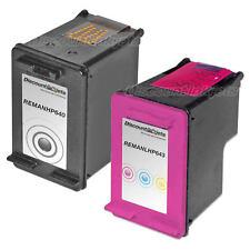 2 CC640WN Black & Color Print Ink Cartridge for HP 60  F4275 F4280 F4292 F4293