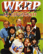 WKRP CAST Signed 8x10 Photo Autograph reprint