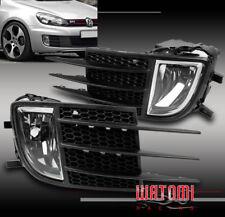 10 11 12 VOLKSWAGEN VW GTI MK6 2.0T BUMPER DRIVING CHROME FOG LIGHT LAMP W/COVER