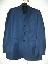 Traje caballero marca MILANO. Chaqueta Talla 48 - Pantalón Talla 42. color azul