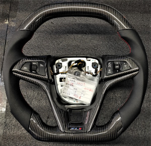 2010 Camaro  ZL1 Ferrari Style Real Carbon Fiber Steering Wheel w/Shit Knob